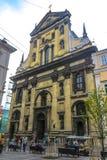Église 03 de jésuite de Lviv photos stock