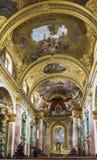 Église de jésuite, Vienne Image libre de droits