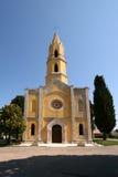 Église de John l'évangéliste dans Valtura Image libre de droits