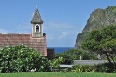 Église de Kahakuloa Image stock