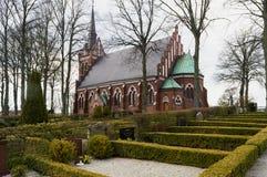 Église de Korsbacka dans le skane de kavlinge Photographie stock libre de droits