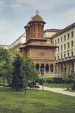 Église de Kretzulescu, Bucarest, Roumanie Image stock