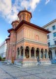 Église de Kretzulescu, finie en 1722, Bucarest, Roumanie Photo stock