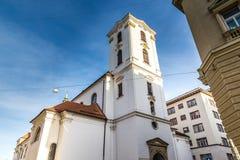 Église de l'acceptation de notre Dame-Brno, Czechia photos stock