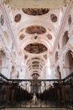Église de l'Allemagne de monument de Basilika Waldsassen sainte Image stock