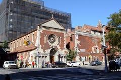 Église de l'ange gardien en Chelsea, Manhattan Photos stock