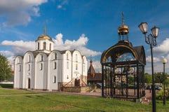 Église de l'annonce Vitebsk Belrus photos stock