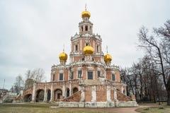 Église de l'intervention chez Fili, Moscou Image stock