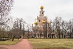 Église de l'intervention chez Fili, Moscou Photographie stock libre de droits