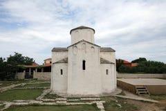 Église de la croix sainte, Nin, Croatie Photographie stock