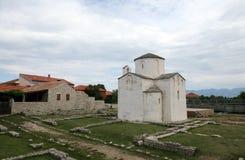 Église de la croix sainte, Nin, Croatie Images stock