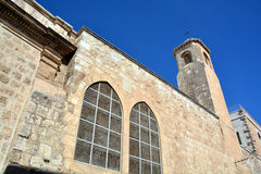 Église de la flagellation Images libres de droits