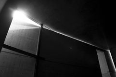 Église de la lumière Image libre de droits