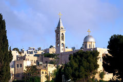 Église de la nativité à Bethlehem Photo libre de droits