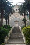 Église de la nativité de notre Madame dans Prcanj Image libre de droits