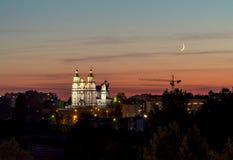 Église de la résurrection du ` s de seigneur dans Bialystok photo stock