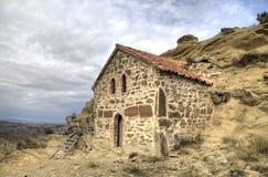Église de la résurrection Monastère Udabno images stock