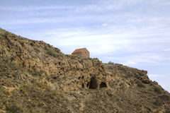 Église de la résurrection Monastère Udabno photos stock