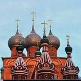 Église de la résurrection sur Debra, Russie, Kostroma Photographie stock