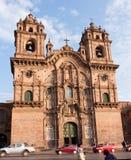 Église de la société de Jésus, Cusco, Pérou Photos libres de droits