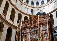 Église de la tombe sainte à Jérusalem Photo stock