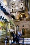 Église de la tombe sainte, Jérusalem images stock