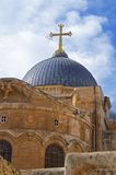 Église de la tombe sainte Jérusalem images libres de droits