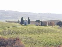 Église de la Toscane images stock