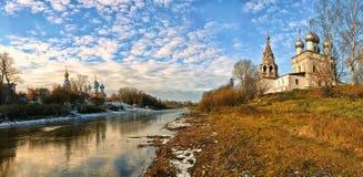 Église de la ville de Vologda Photographie stock