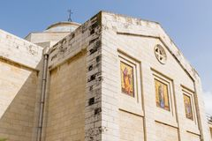 Église de Lazarre dehors Photo libre de droits