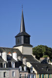 Église de Le Palais à la belle Ile en France Photo libre de droits