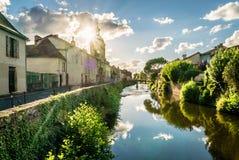 Église de Les Récollets dans le saint Céré, France Images libres de droits