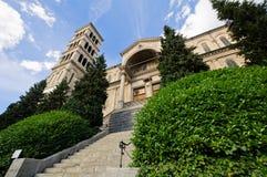 Église de Liebfrauen à Zurich image libre de droits