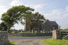 Église de Llanidan, Brynsiencyn, Anglesey, Images libres de droits