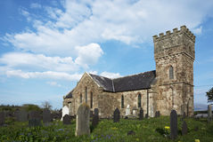 Église de Llanidan, Brynsiencyn, Anglesey, Photo stock