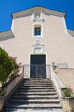 Église de mère de Morano Calabro La Calabre l'Italie Photo stock