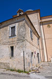 Église de mère de Morano Calabro La Calabre l'Italie Images libres de droits