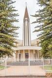 Église de mère reformée par Néerlandais dans Vredendal Photos libres de droits