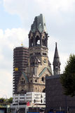 Église de mémorial de Kaiser Wilhelm Photo libre de droits
