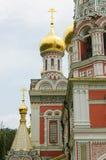 Église de mémorial de Shipka Photos libres de droits