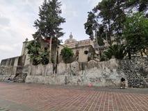 Église de México photographie stock libre de droits