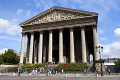 Église de Madeleine de La, Paris Image stock