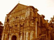Église de malate à Manille Photographie stock libre de droits