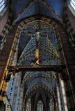 Église de Mariacki à Cracovie Image libre de droits