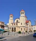 Église de martyre de Rethymno image stock