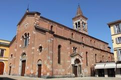 Église de martyre de rue Peter à Monza photographie stock libre de droits