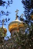 Église de Mary Magdalene, Jérusalem Images stock