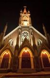 Église de Marys de saint la nuit photographie stock libre de droits