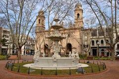 Église de Matriz dans la vieille ville Photo libre de droits