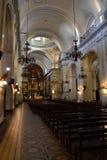 Église de Matriz dans la vieille ville Photographie stock
